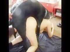 Alsatian dog fucking girl