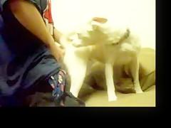 Mi chico se folla nuestro perrito